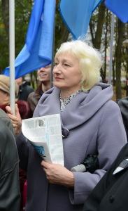Председатель профсоюзной организации Валентина Юрьевна Зеленина
