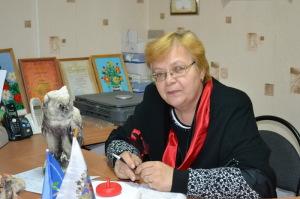 Председатель профсоюзной организации Ольга Евгеньевна Кашаева